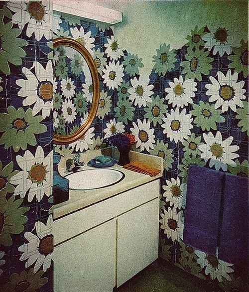 1000 images about 1960s bathroom on pinterest bathrooms for Garden design 1960s