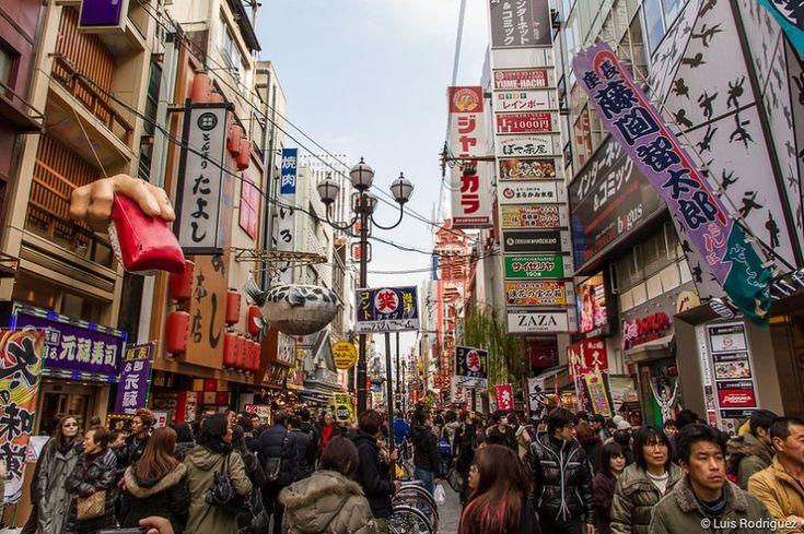 Dotonbori y su famoso Glico Man, el neón más famoso de Osaka