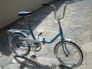 Monareta Dobramatic 1977 una bicicleta plegable de Monark para personas mayores