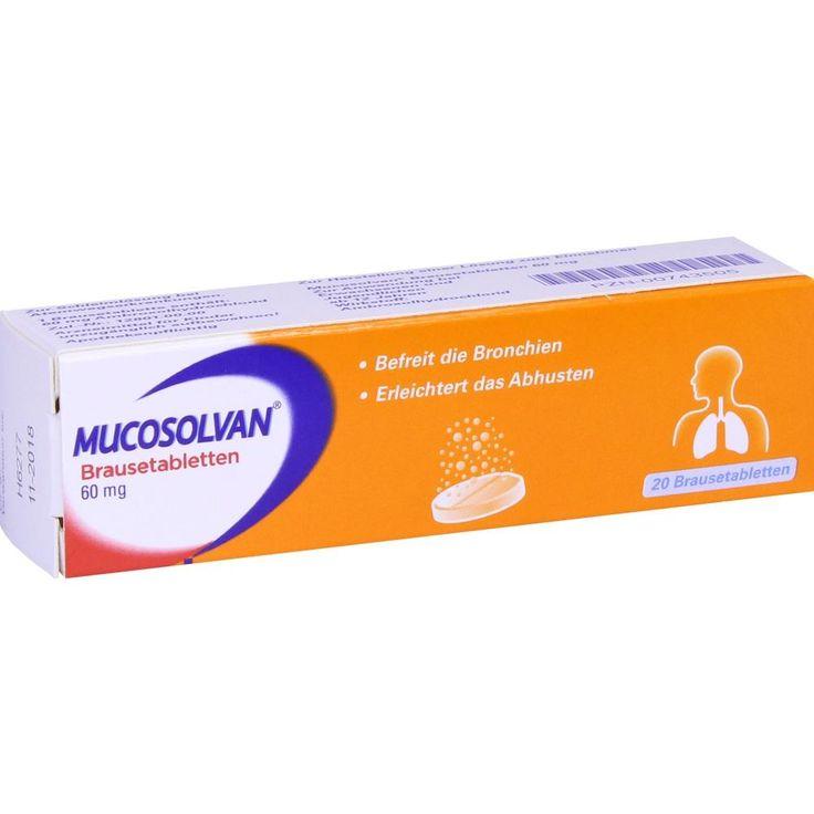 MUCOSOLVAN Brausetabletten 60 mg:   Packungsinhalt: 20 St Brausetabletten PZN: 00743505 Hersteller: Boehringer Ingelheim Pharma GmbH &…