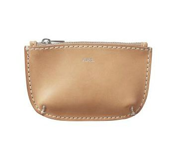 Leather Coin Purse by A.P.C.