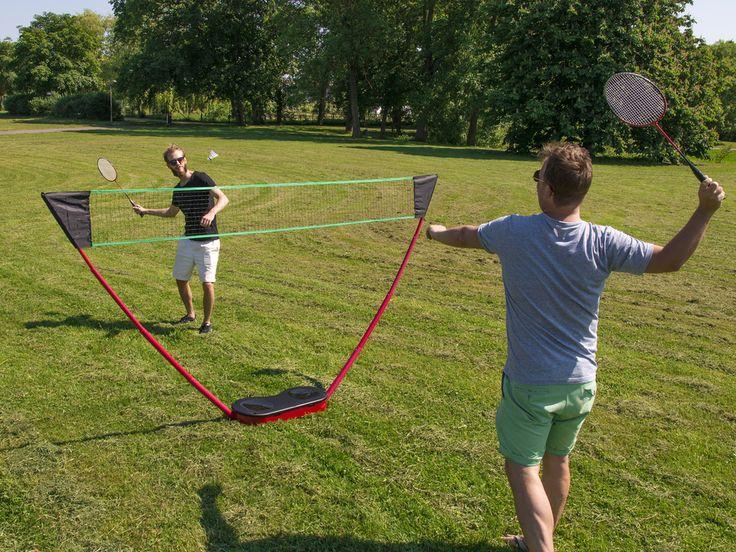 Portabelt Badmintonset