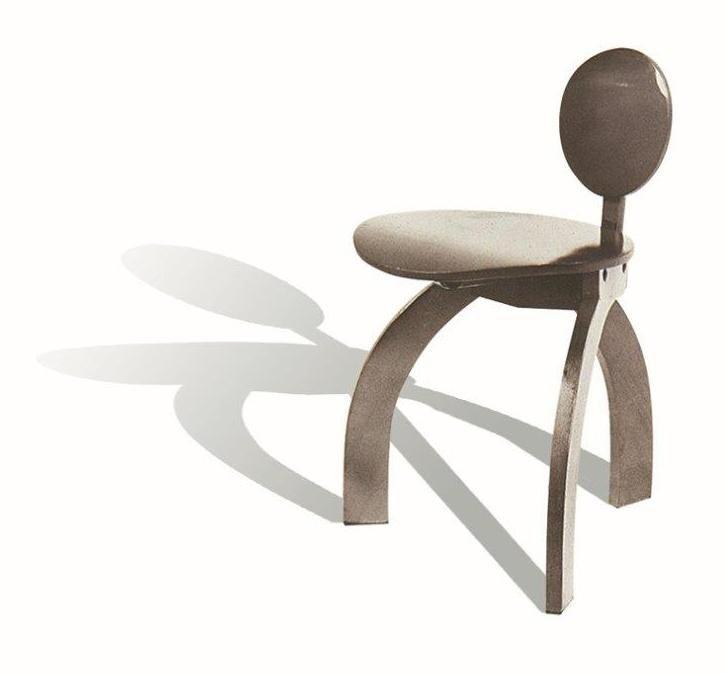 Cadeira Margueritt - Design de Fernando Cecchetti e Maurício Volochin - UFPR - Universidade Federal do Paraná - Orientado por Ivens Fontoura - Curitiba, PR - Menção Honrosa - Móvel para Escritório e Institucional.