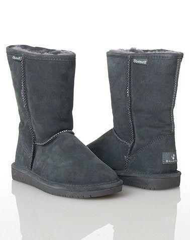 gray bearpaw boots