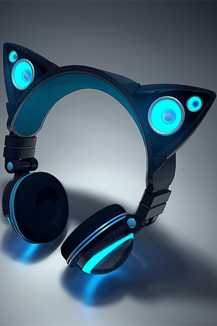 5 Feline-Shaped Gadgets That Are The Cat's Meow #refinery29  http://www.refinery29.com/cat-tech-products#slide1  Dr. Dre who? This audio gadget is truly the cat's whiskers. Designed by two UC Berkley grads, Axent Wear's glow-in-the-dark headphones feature a pair of rad feline ears that doubles as speakers. But, don't get your claws out just yet: The product will be crowdfunded through Kickstarter for roughly $115 a pop, and won't be available for another couple of weeks. Head to their ...
