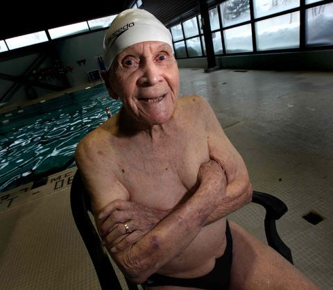 Winnipeg's Jariing Timmerman, swimming record holder died at 106. He was the first and still the only swimmer in the world to compete in the 105-109 year old age group. What was the secret to his longevity?