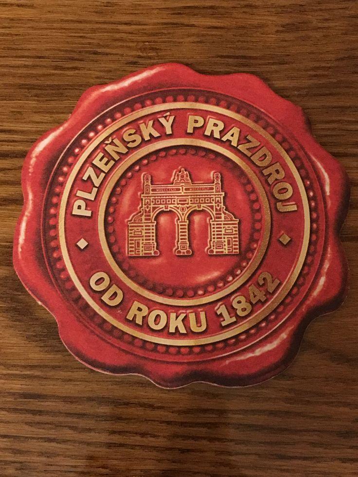 tschechischer Bierdeckel, Pilsen Plzeňský Prazdroj a. s.