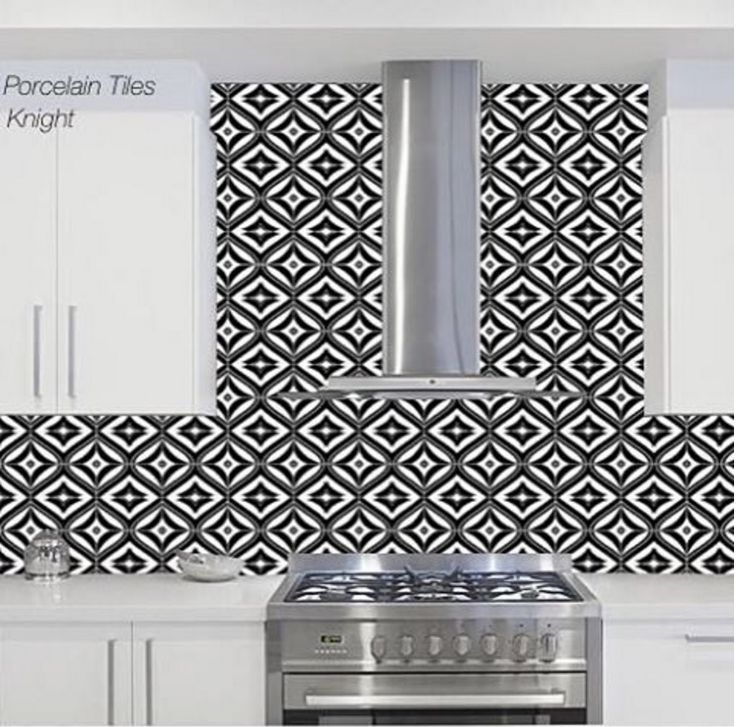 Lots and lots of patterned tiles are on display in our showroom, come on in and have a look.