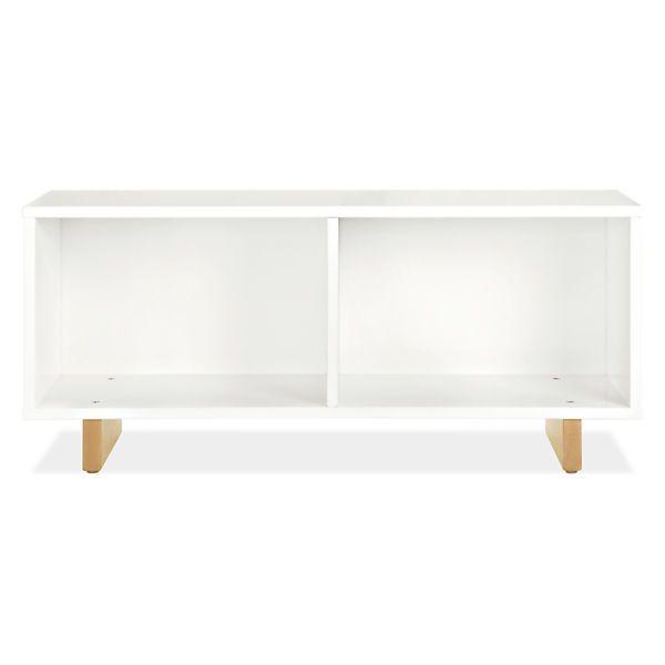 Moda Modern Bookcase Benches - Modern Bookcases & Shelves - Modern Kids Furniture - Room & Board