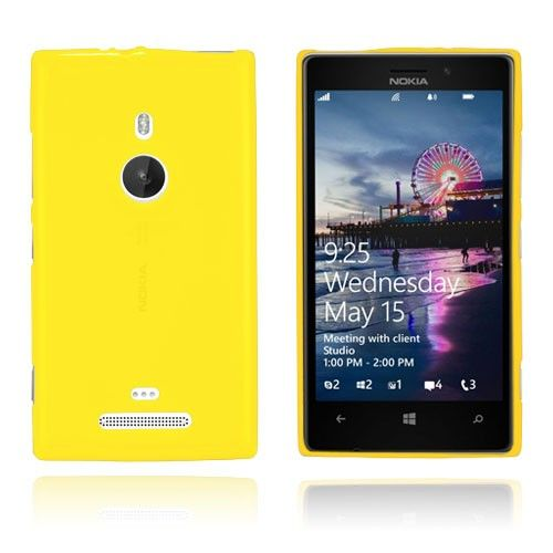 GelCase (Gul) Nokia Lumia 925 Deksel