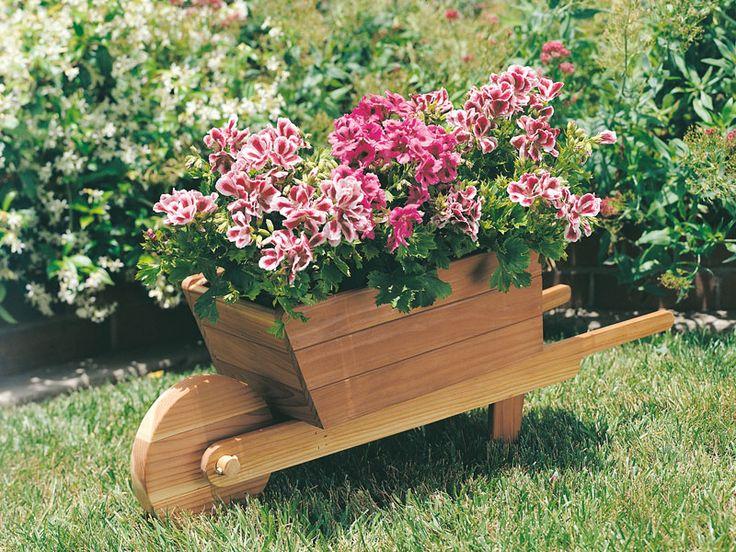 25 wheelbarrow planter ideas for your garden