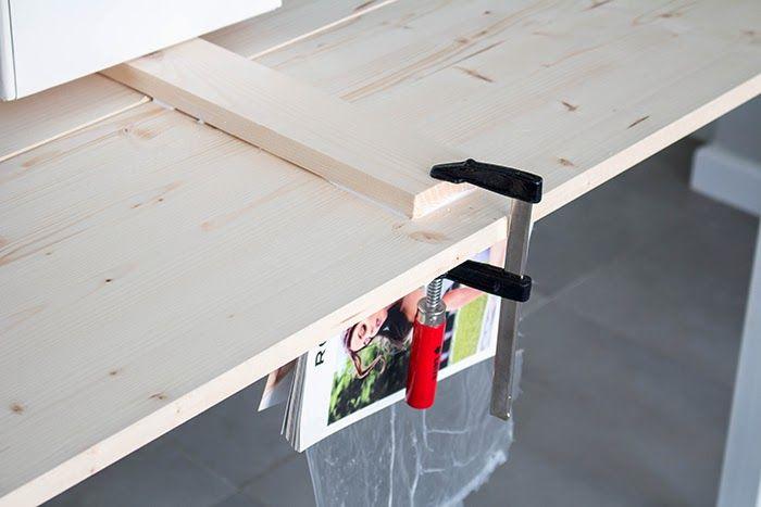 DIY: Mesa de comedor de tableros de madera. 25 aniversario Leroy Merlín