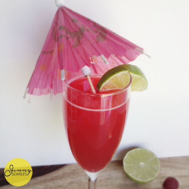 Raspberry Daiquiri Cocktail