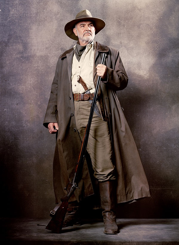 Sean Connery as Alan Quatermain in The League of Extraordinary Gentlemen (2003)