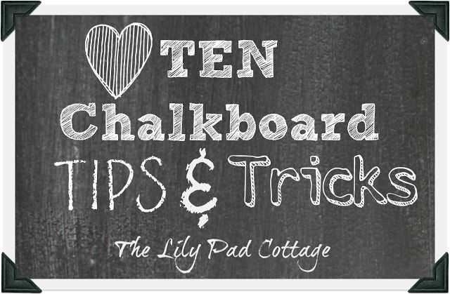 My top 10 chalkboard tips and tricks for making your own chalkboard art. From picking fonts to what chalk and tools to use, everything you need to know.