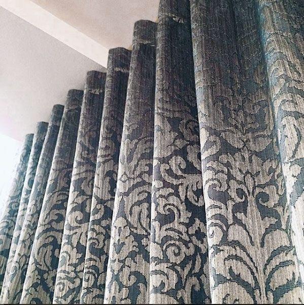 Красота в деталях: #портьера из жаккарда Method коллекция Sicily #galleria_arben Дизайн @julia_egunova #шторы #ткани #fabric #декорокна