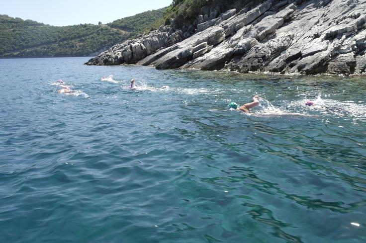 Coastal swim