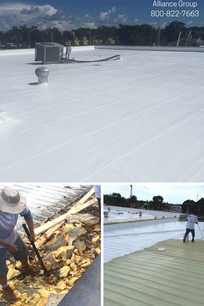 Some Things To Consider If Youu0027re Thinking About Silicone Roof Coating For  Your Commercial