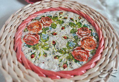 koszyczek z mozaiką