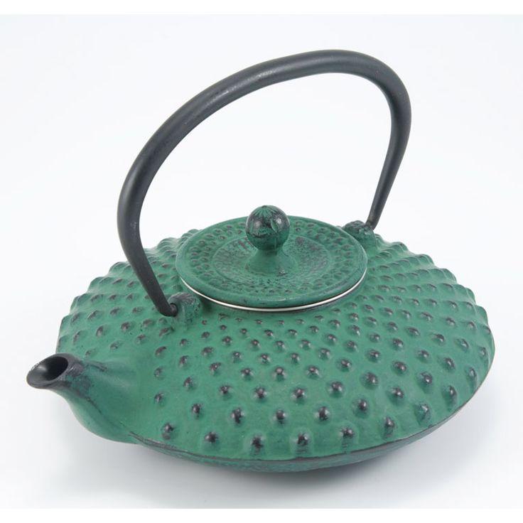 Sendai Teapot, Green, Satake