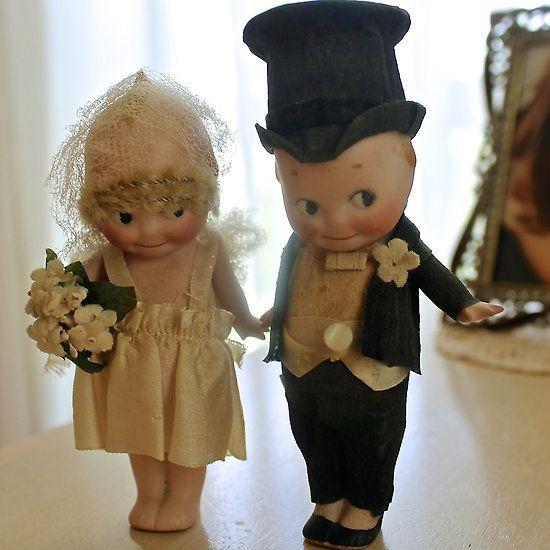 Bride and Groom Kewpies