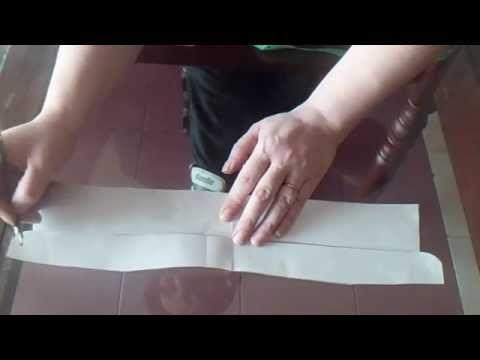 """Como hacer el cuello y el pie de cuello """"camisa"""" - YouTube"""