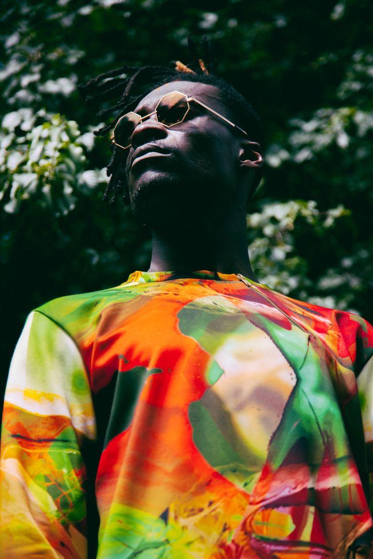 Musician Kirri Koo Des X CastEyeWear wearing JAP Jorge Ayala photographed by Paul Ward