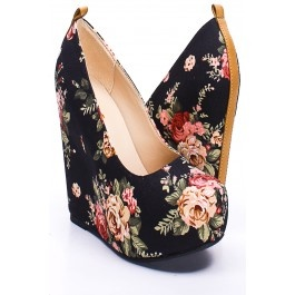 BLACK ROSE FLORAL CANVAS HIDDEN PLATFORM WEDGES,Women's Wedge Shoes For Sale,Cheap Wedge Sandals Shoes,Sneaker Wedges,Booties Wedges,Wedges Heels,Suede Wedges,Lace Up Wedges,Cutout Wedge Shoes,Platform Wedges Shoes,Cute Spike,Studded,Strappy Wedges Shoes Online