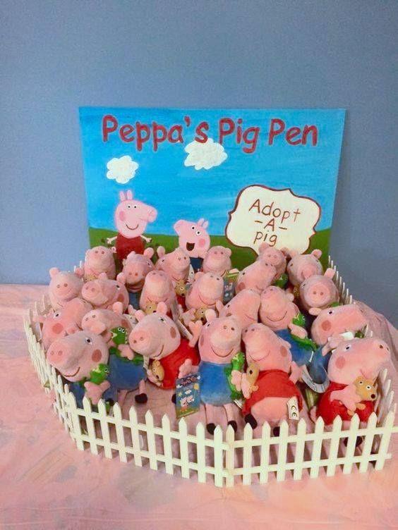 Peppa Pig Pen- birthday giveaways