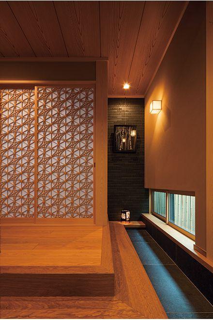 和の意匠を楽しむ玄関 #japanesearchitecture
