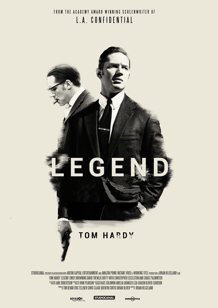 Legend - epic gangster fun starring Tom Hardy as Ronnie Kray and Tom Hardy as Reggie Kray #GangsterMovie #GangsterFlick