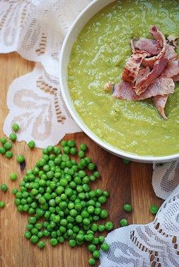 Pea soup - 'The Princess and the Pea'