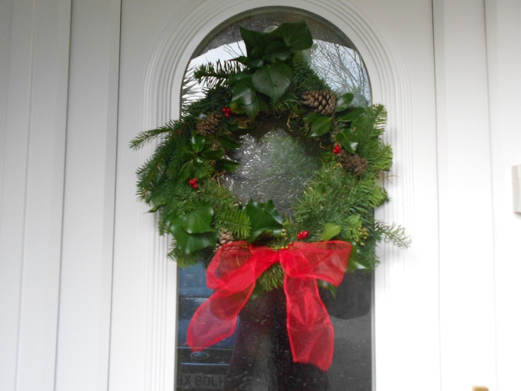 My Christmas wreath :-)