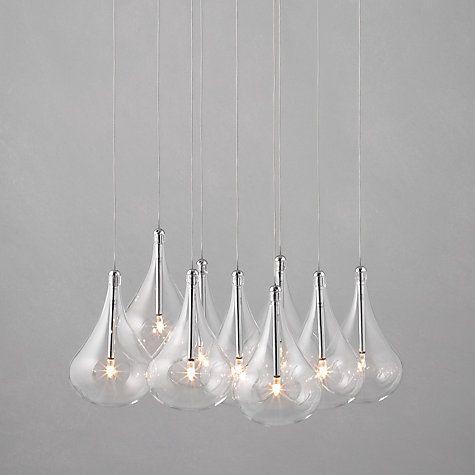 Buy John Lewis Jensen Dangle Cluster Ceiling Lights, x9 Lights Online at johnlewis.com Over dining table