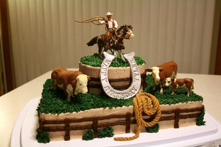 Horse Birthday Cakes for Boys | Rootin' Tootin' Roundup Cake — Birthday Cakes
