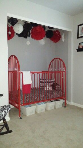 Best 25 Crib In Closet Ideas On Pinterest Organize Baby