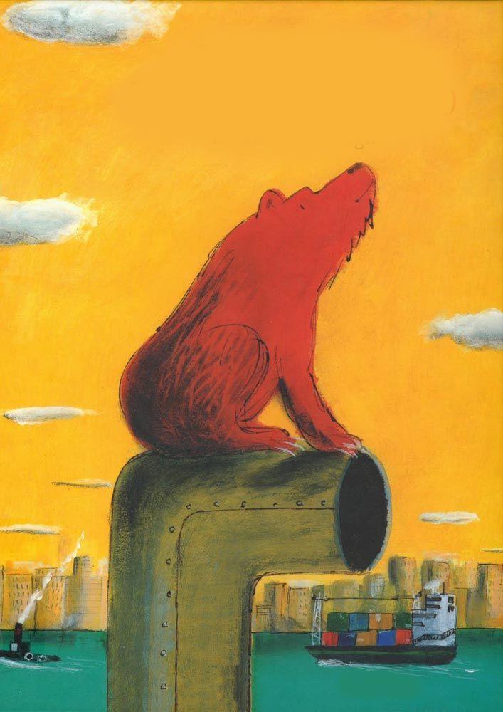 """Forse pochi sanno che #JulioCortázar scrisse anche per i #bambini. Creature che prendono vita nei luoghi più segreti, una vita magica e misteriosa, tenera ed affascinante. Un #orso (mio grande amore) che vuole mostrarci come viviamo e quanto l'amore può fare... anche accarezzandoti con l'acqua <3 Ho anche trovato una lettura per questo brano imperdibile. """"Sono l'orso dei tubi della casa, mi arrampico per i tubi nelle ore del silenzio, i tubi dell'acqua calda, del riscaldamento, [...]"""