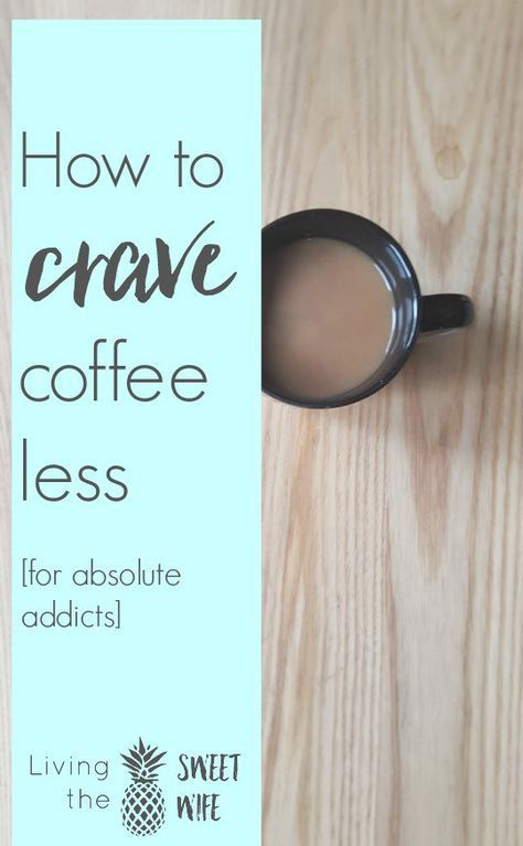 I started to get kind of sick of being bossed around coffee and hence decided to do something about the vicious cycle. | How to Crave Coffee Less