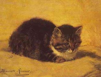 cats in fine art and poetry - Marsa's Perserkatzen