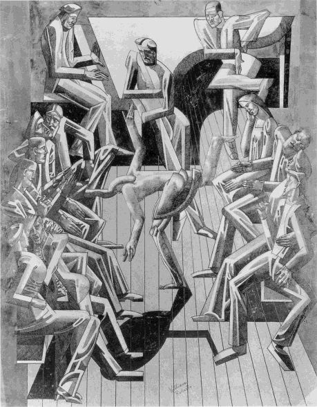 "William Roberts (English, 1895 - 1980) ""Toe Dancer"", c.1914"
