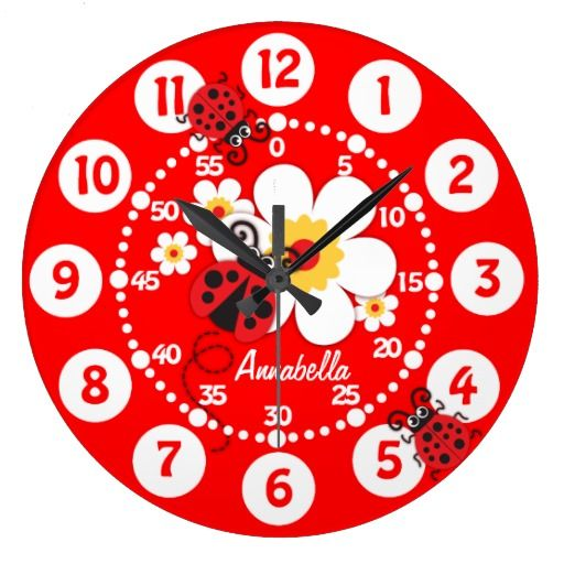 >>>best recommended          Kids ladybug & flowers bright red wall clock           Kids ladybug & flowers bright red wall clock We provide you all shopping site and all informations in our go to store link. You will see low prices onDiscount Deals          Kids ladybug & flower...Cleck Hot Deals >>> http://www.zazzle.com/kids_ladybug_flowers_bright_red_wall_clock-256726793355688031?rf=238627982471231924&zbar=1&tc=terrest