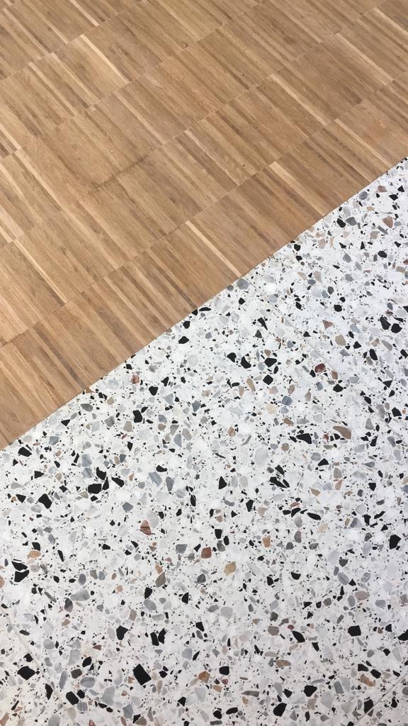 Terrazzo Combinatie, Terrazzo Laminate Flooring