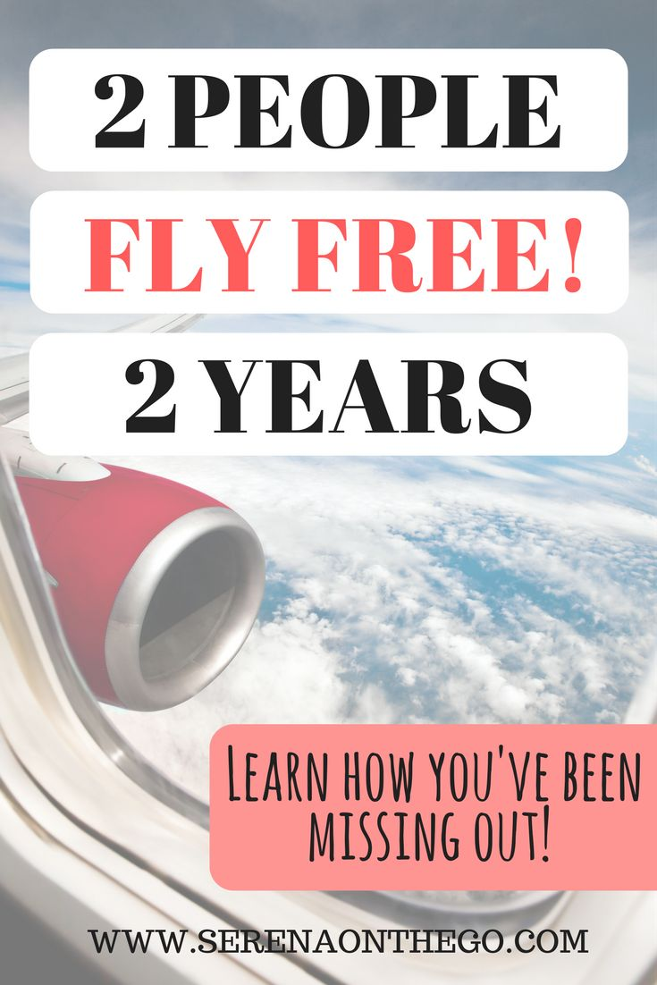 LEARN HOW 2 PEOPLE FLY FREE FOR 2 YEARS USING SOUTHWEST COMPANION PASS