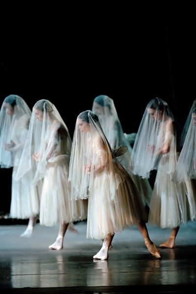 Giselle performed by The Royal Ballet.