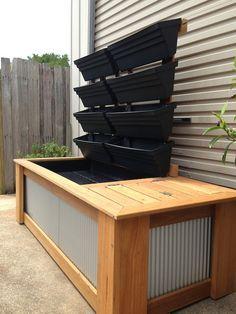 aquaponic alaska grow bucket | IBC container aquaponic on Pinterest…