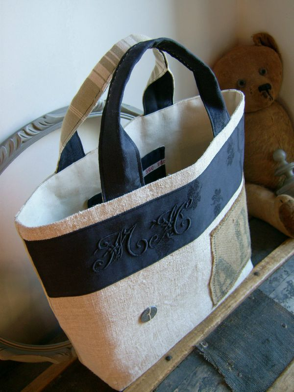 Very nice bag - no pattern, just for inspiration.
