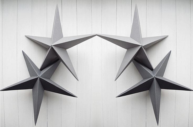 DIY THREE DIMENSIONAL STAR