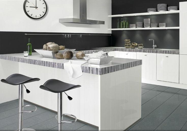 17 beste idee n over keuken schiereiland op pinterest keuken bartafel keuken bars en grijs - Kleine keukenstudio ...