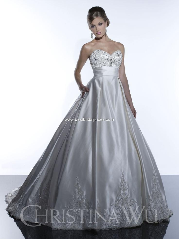 132 best Christmas Wedding Gowns images on Pinterest | Short wedding ...