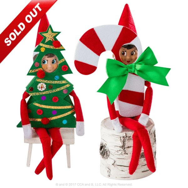 Claus Couture Collection® Ha Ha Holiday Costumes: Outfits on Scout Elves